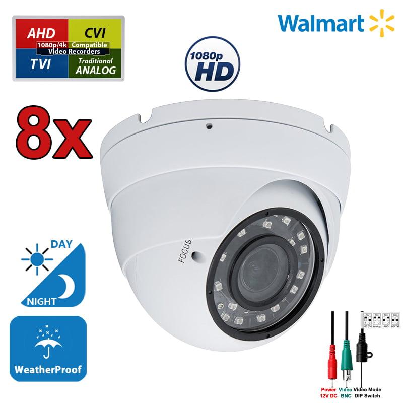Outdoor Security CCTV Camera HD 1080p Night Vision Outdoor Indoor Surveillance