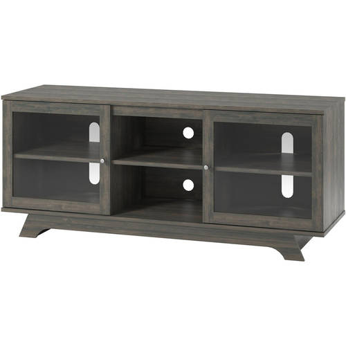 Living Room Media Center: TV Console Stand For TVs Up To 55 Inch Gray Living Room