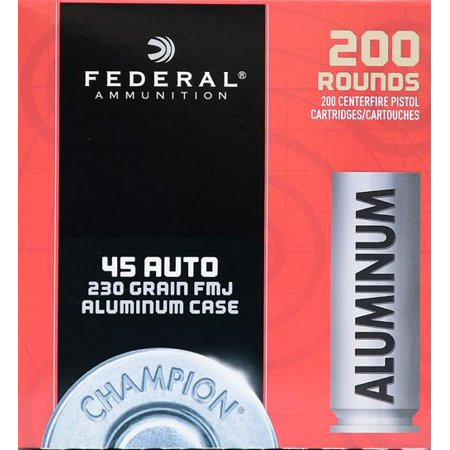 Federal Ammunition Federal 45acp 230gr Aluminum 200