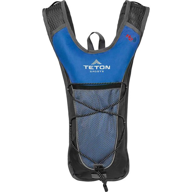TETON Sports Trailrunner 2.0 Hydration Pack, Hiking Backpack, Free 2-Liter Hydration Bladder, Blue