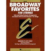 Essential Elements Broadway Favorites for Strings - Violin 1/2 (Paperback)