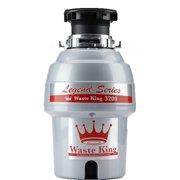 Waste King Legend Series 3/4 HP EZ-Mount Sound Insulated Garbage Disposer