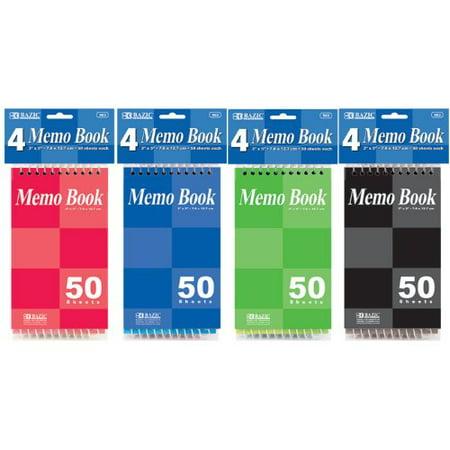 Rapid Memo Book (BAZIC 50 Sheets 3