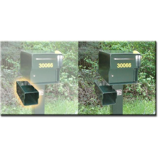 Fort Knox Mailbox PB G .25 in. Steel Paper Boxes - Green