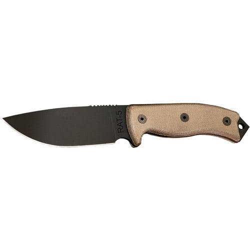 Ontario Knife Company Rat 5 Rat 5: Ontario Knife Company RAT-5 1095 Knife
