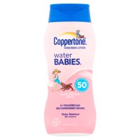 Coppertone Water Babies Sunscreen Lotion SPF 50, 8 fl oz