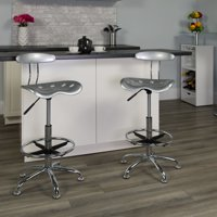 Adjustable Height Drafting Stool with Tractor Seat, Multiple Colors