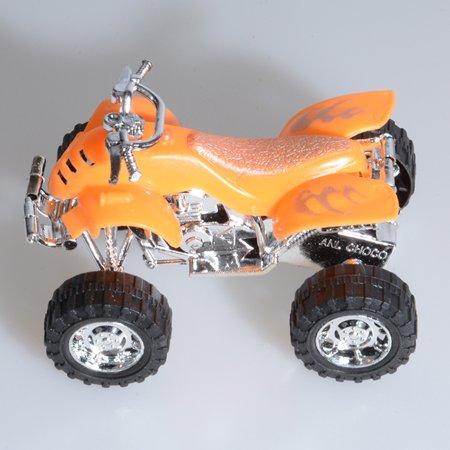 Plastic Pullback Dune Buggy Racing Motorcycle Motorbike Racer Vehicle Toy for Kids
