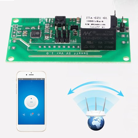 10A Wifi Smart Switch Modified Part Voice Control For Alexa Echo Google Home - image 7 de 7