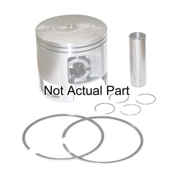 Piston Kit .020/.50mm Kawasaki 1200cc 2 Stroke 1999 & UpPro #: 010-8412 X-Ref #: 2 Stroke Piston