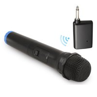 Wireless Microphone, EEEkit Wireless Bluetooth Mic System, Dynamic Handheld Cordless Mic with VHF Receiver for Karaoke Singing Church Speech Weddings Stage Conference