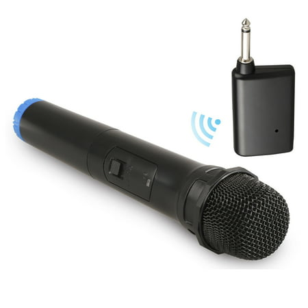 Wireless Microphone, EEEkit Wireless Bluetooth Mic System, Dynamic Handheld Cordless Mic with VHF Receiver for Karaoke Singing Church Speech Weddings Stage (Best Wireless Microphone Brands)