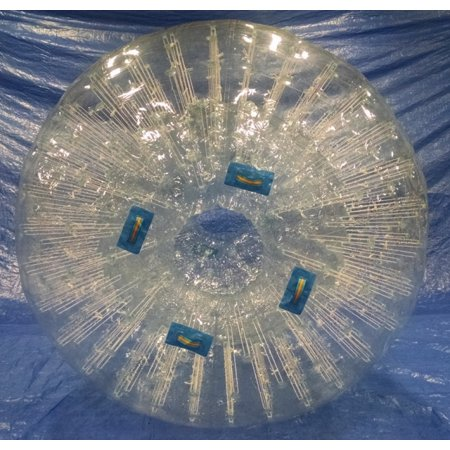 Pogo Double Hole PVC Zorb Giant Hamster Bumper Inflatable Ball with Blower - Giant Inflatable Ball