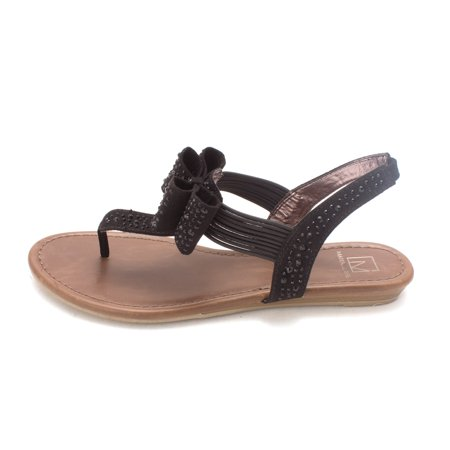 aa987f07af7 Material Girl - Material Girl Womens SHAYLEEN Open Toe Casual T-Strap  Sandals