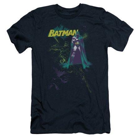Batman/Bat Spray Mens Slim Fit Shirt