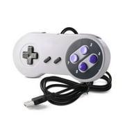 USB Controller Gaming Joystick Gamepad Controller for Nintendo SNES Gamepad for Windows PC For MAC Computer