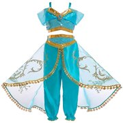 Girls Princess Costume Halloween Party Dress Up