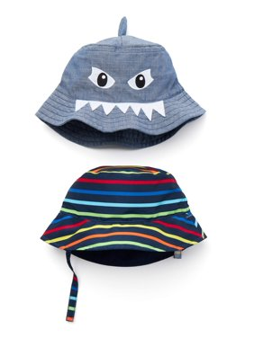Wonder Nation Boy's Sunhat 2-pack