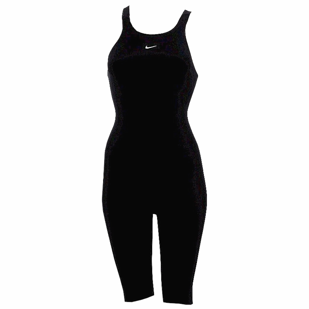 Nike Women's Flex LT Neck To Knee Swimsuit Black Competit...