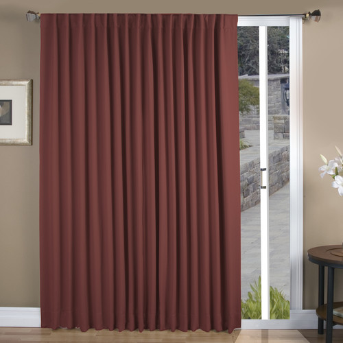 Ricardo Trading Ultimate Black-Out Blackout Single Curtain Panel
