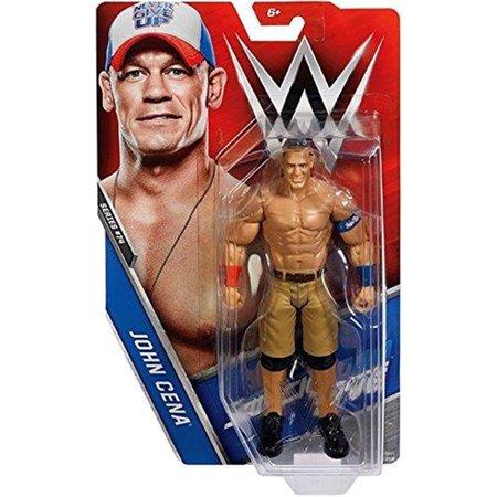 WWE John Cena Basic Figure Series 74 Professional Wrestling Mattel (Series 14 Basic Figure)