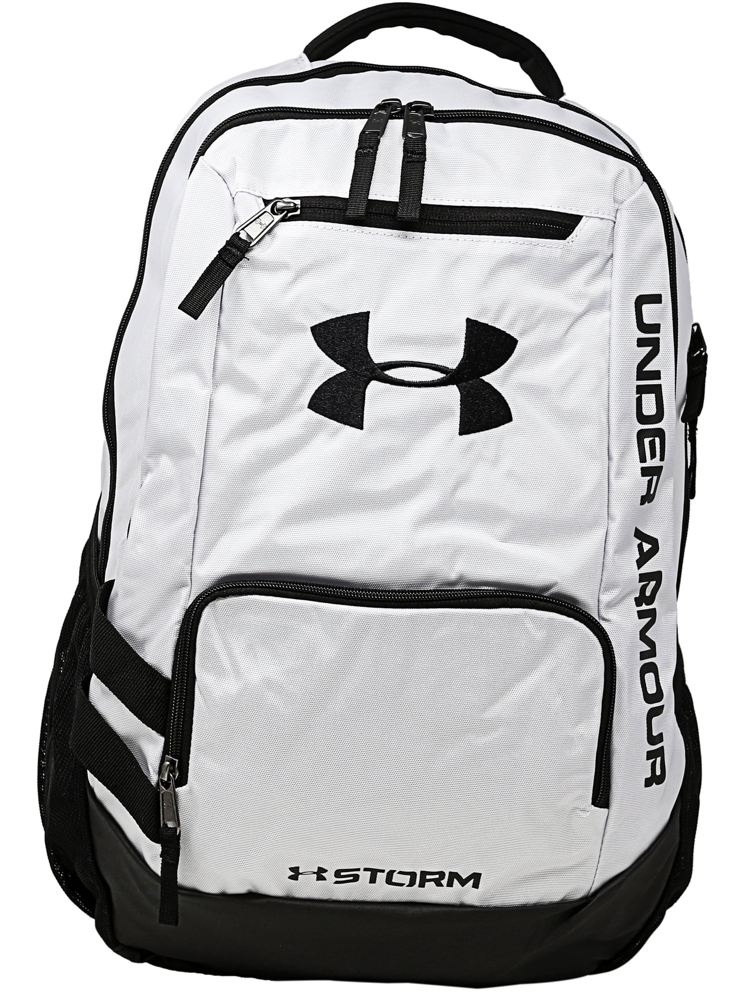 e7db77b00e12 Under Armour - Team Hustle Polyester Backpack - Black - Walmart.com