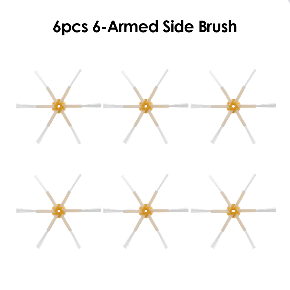 6Pcs Side Brush 3 Armed Replacement for iRobot Roomba 500 600 700 Series Vacuum