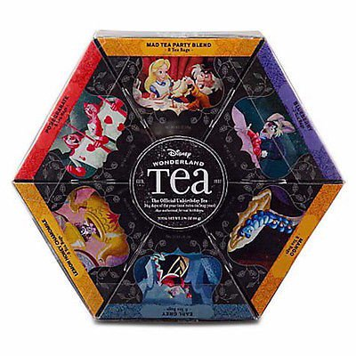 disney parks wonderland tea gift set 6 flavors 48 tea bags new (Best Flavored Tea Brands)