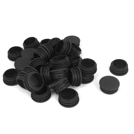 Unique Bargains 30 Pcs Antislip Plastic Round 32mm Chair