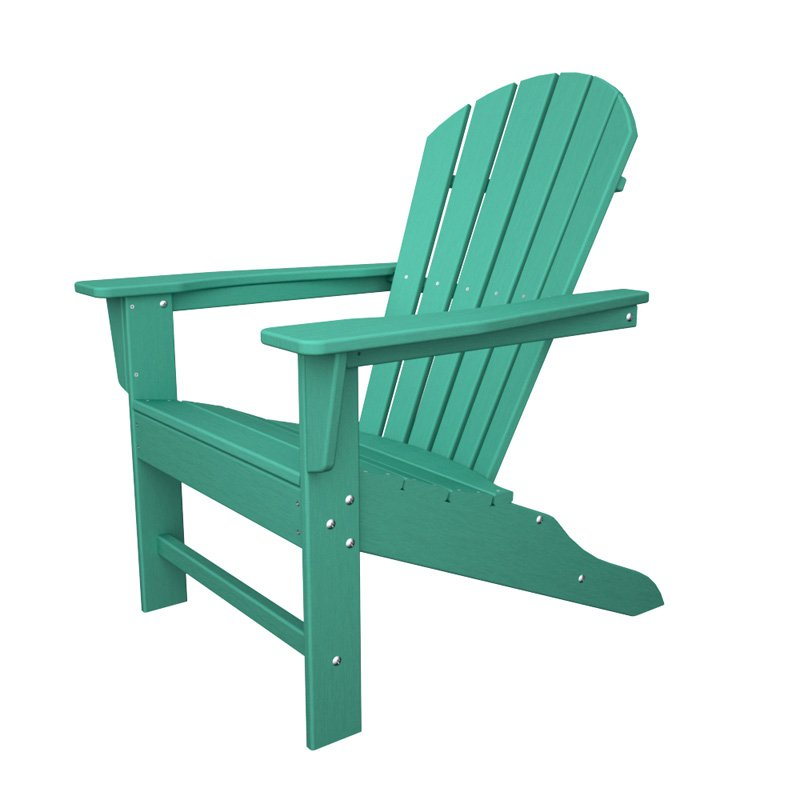 POLYWOOD South Beach Recycled Plastic Adirondack Chair