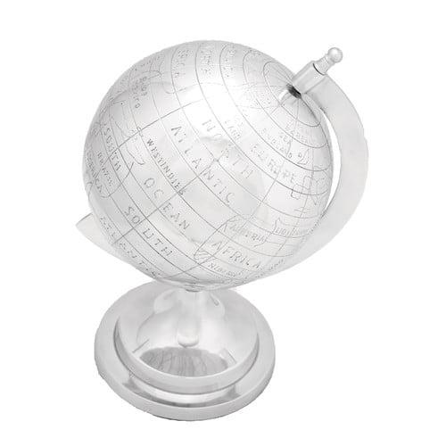 Woodland Imports Aluminum Decor Globe