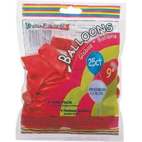 DDI 1186637 Helium Balloon Red 25Ct Case Of 12