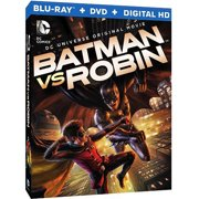 Batman Vs. Robin (Blu-ray + DVD + Digital HD With UltraViolet) (With INSTAWATCH) (Widescreen) by