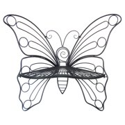 ANTIQUE BLACK BUTTERFLY CHAIR