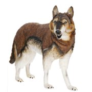 "Hansa Toys - Standing Timber Wolf, 40"""