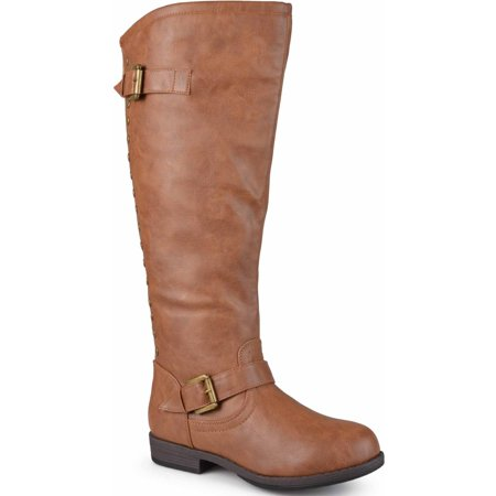 Women's Extra Wide-Calf Knee-High Studded Riding