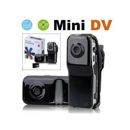 ESOLOM Mini Camera 720 * 480 Portable Nanny Cam Video Recorder Support 8G TF Card, Pocket Body Cam for Home and Office ()