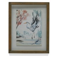 Watercolor Crane Wall Art by Drew Barrymore Flower Home