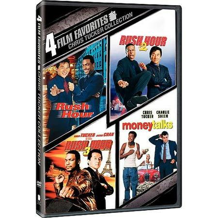 Chris Tucker: 4 Movie Collection Rush Hour 1 2 3 + Money ...