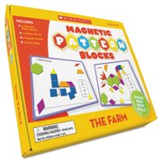 Scholastic The Farm Magnetic Pattern Blo