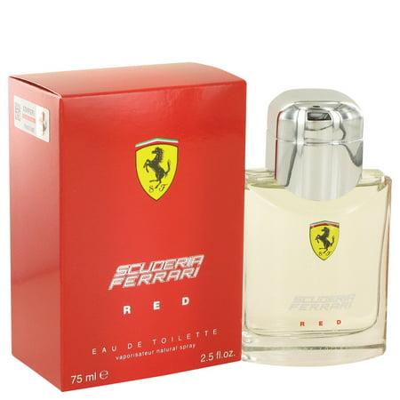 Ferrari Ferrari Scuderia Red Eau De Toilette Spray for Men 2.5 oz