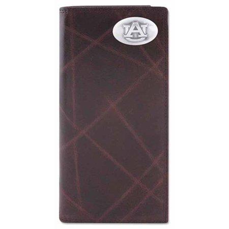 Auburn Wallet - Auburn Wrinkle Leather Secretary Wallet