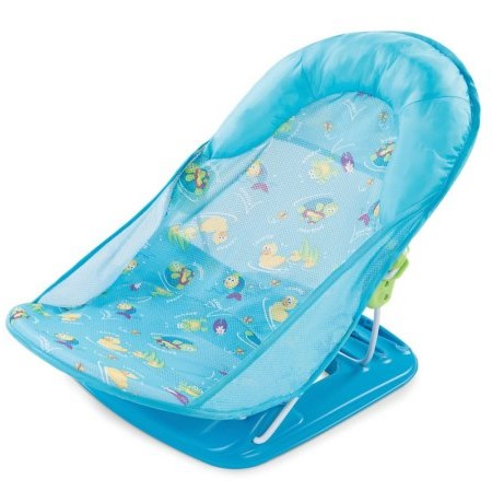 Summer Infant Mother's Touch Deluxe Baby Bather, Submarine Blue by Summer Infant