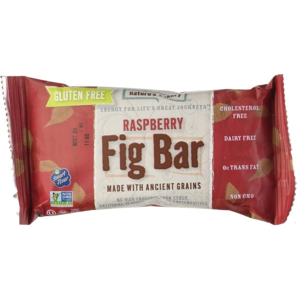 84 PACKS : Natures Bakery Raspberry Fig Bar, 2 Ounce -- 12 per case. by