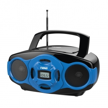 Naxa MP3/CD Mini Boombox and USB Player