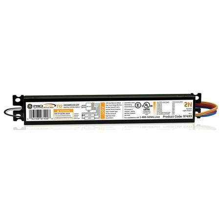 - G E Lighting 93893 Fluorescent Light Ballast, 2-Lamp