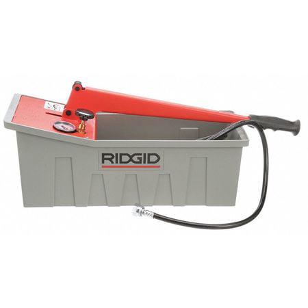 RIDGID 50557 Pressure Test Pump, Hydraulic, 725 PSI