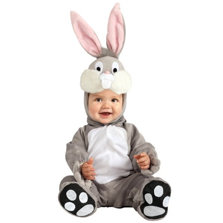 Looney Tunes Bugs Bunny Infant Costume - Bugs Bunny Halloween Makeup