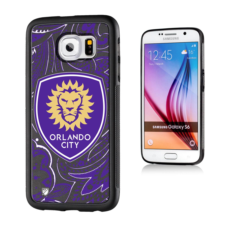 Orlando City Soccer Club Paisley Galaxy S6 Bumper Case