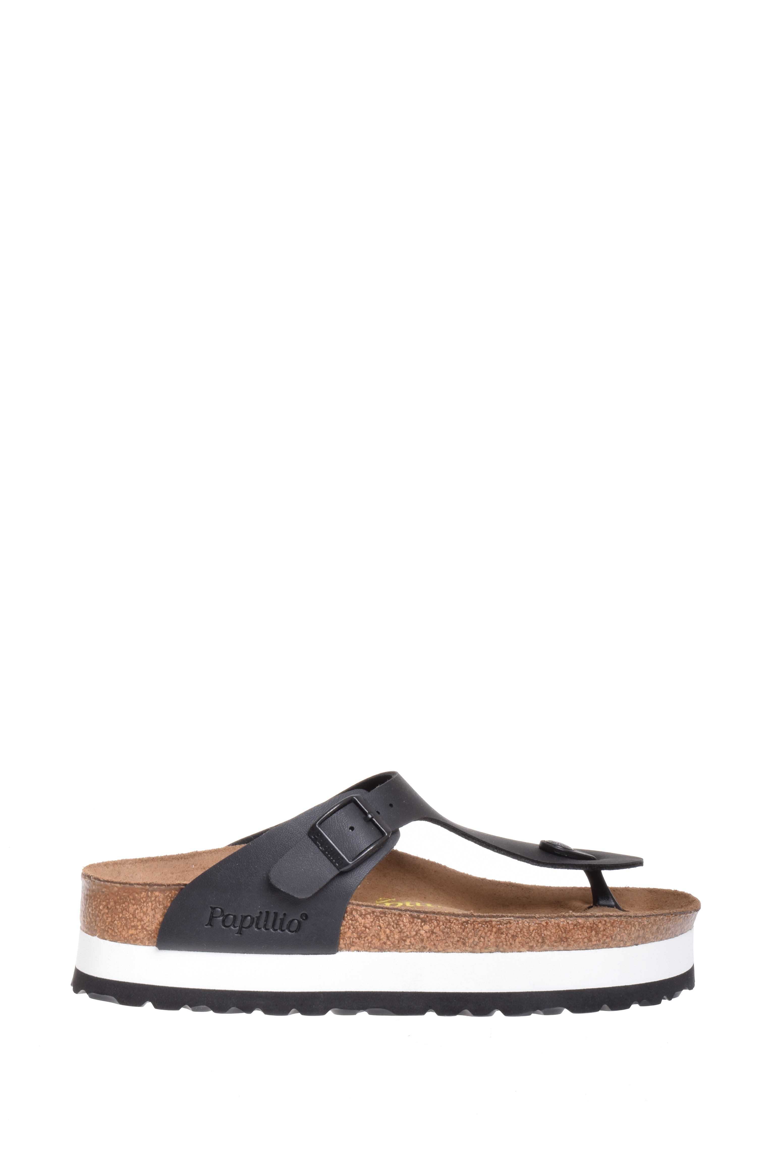 8dcdb07006 Papillio - Papillio Gizeh Birko-Flor Platform Sandal - Black - Walmart.com